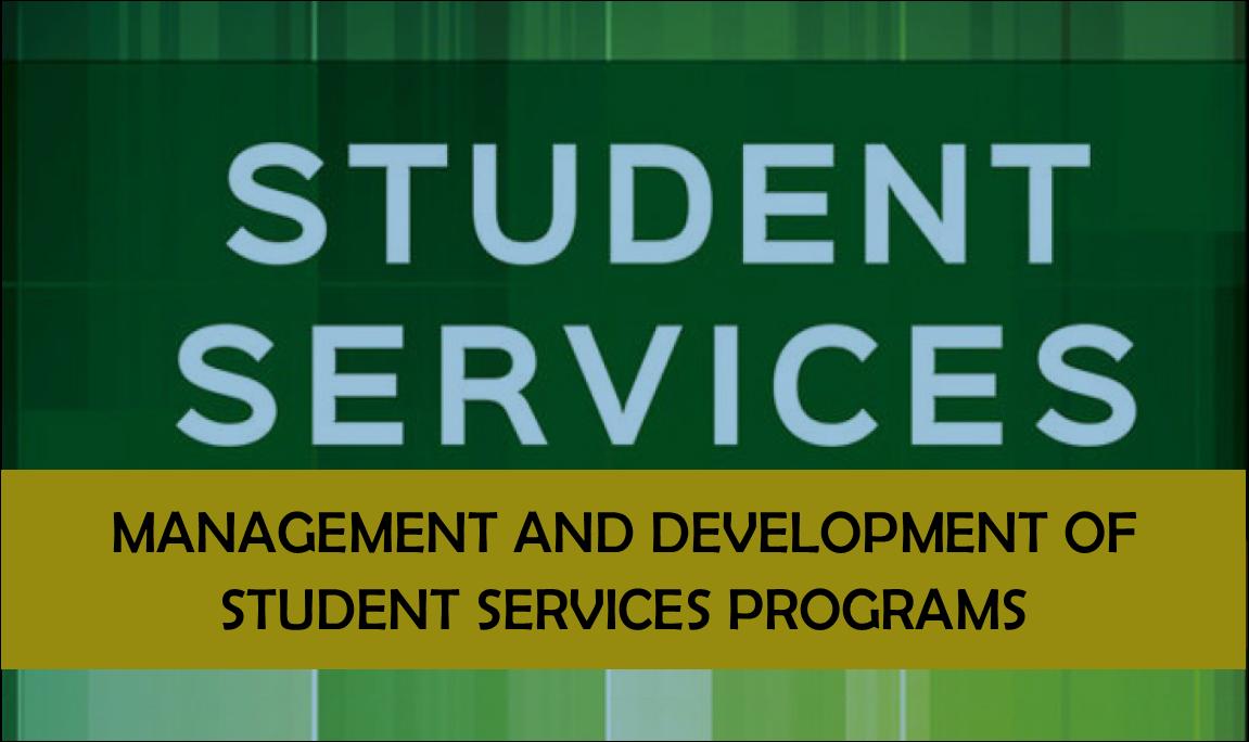 Management of Student Services Program