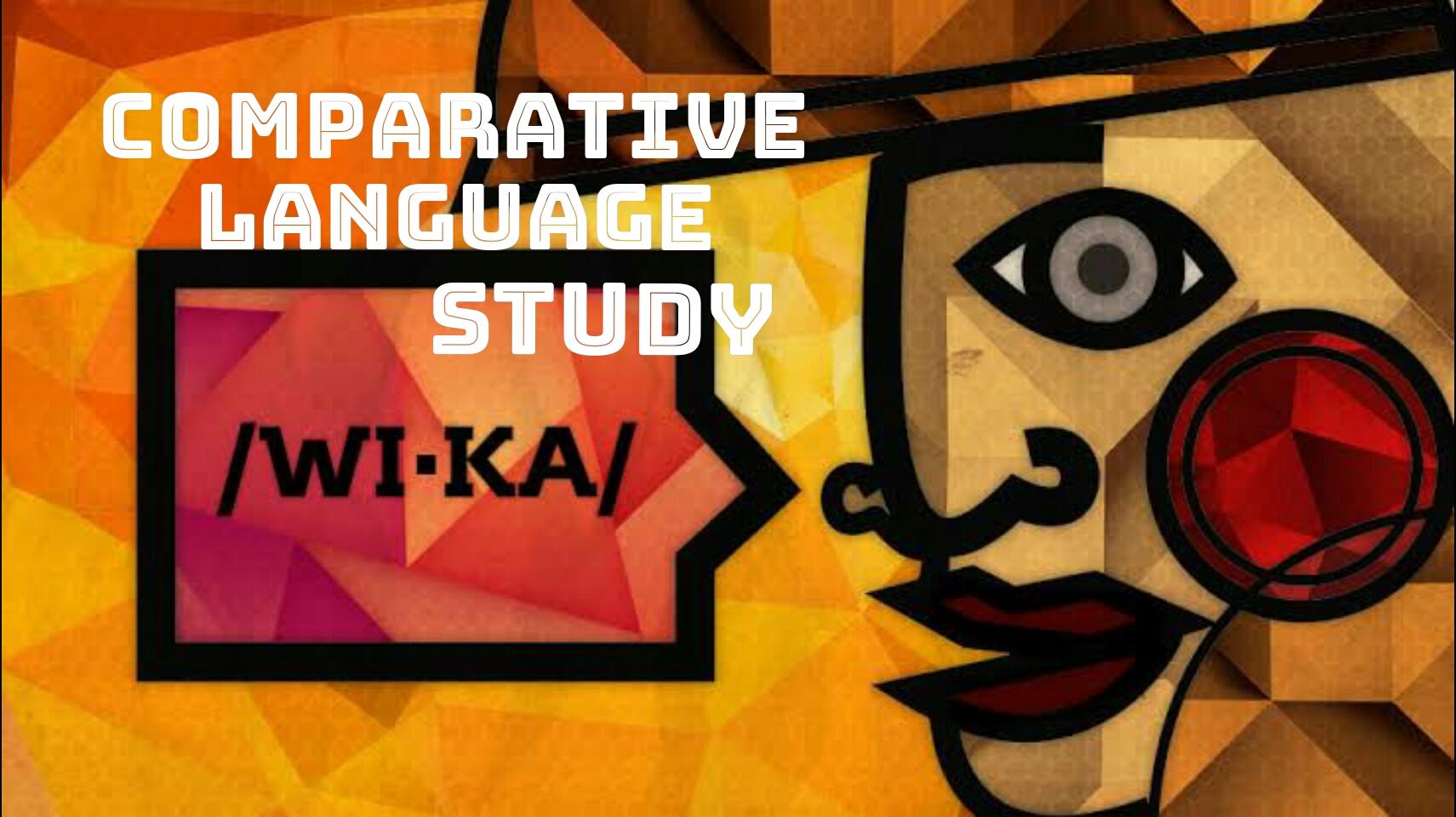 Comparative Languages Study