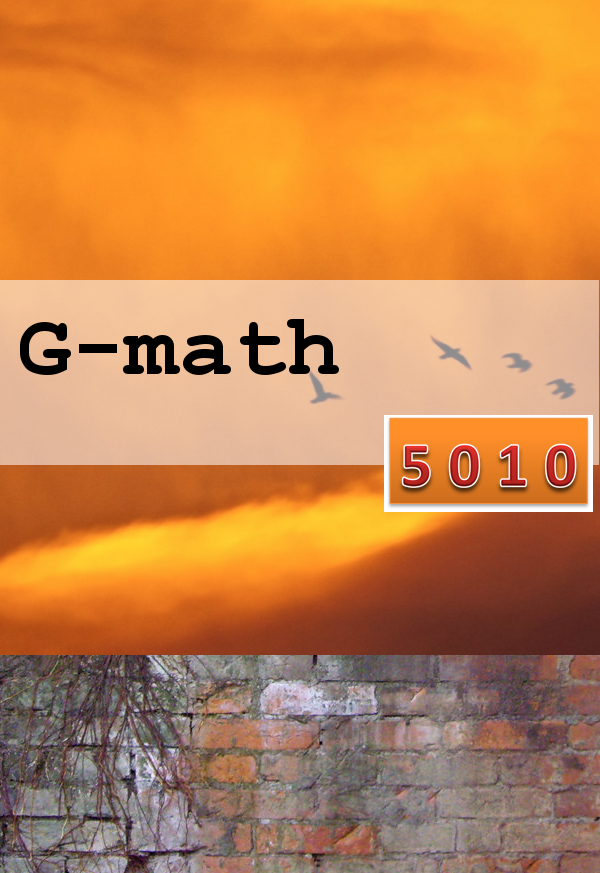 5010-1030-mwf Mathematics in the Modern World