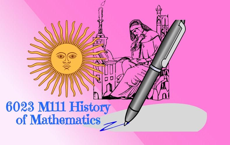 History of Mathematics (6023)