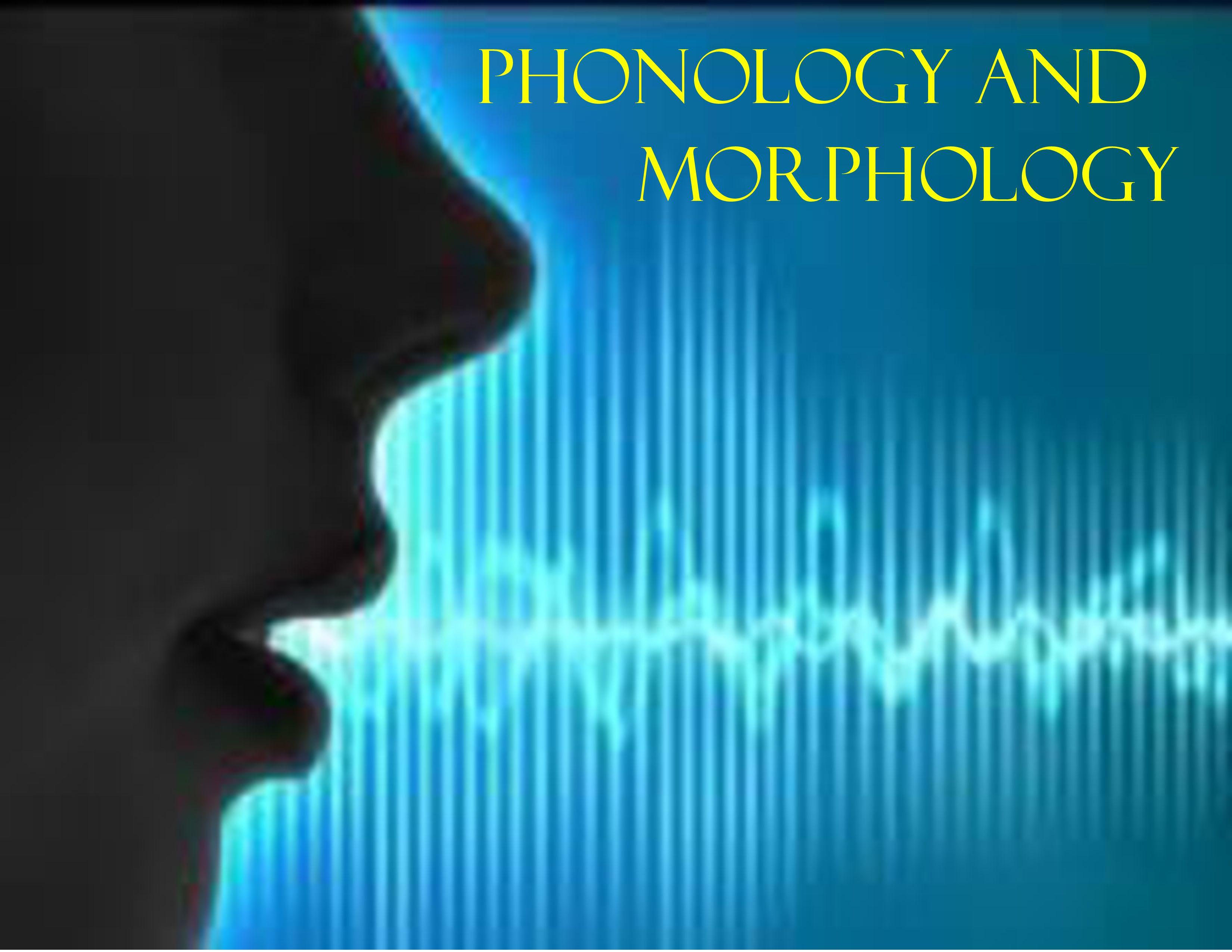 Phonology and Morphology